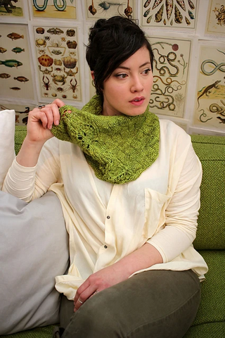 Diane cowl pattern (PDF download)