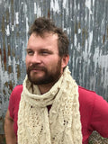 Ardal scarf pattern (printed and PDF download)