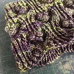 Brinjal cowl pattern (printed or PDF download)