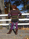 Farmstand sweater pattern (printed or PDF download)