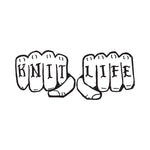 Knit Life shirt (new orders will restart after Rhinebeck)