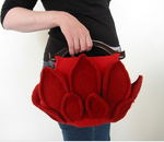 Red Lotus purse pattern (PDF download)