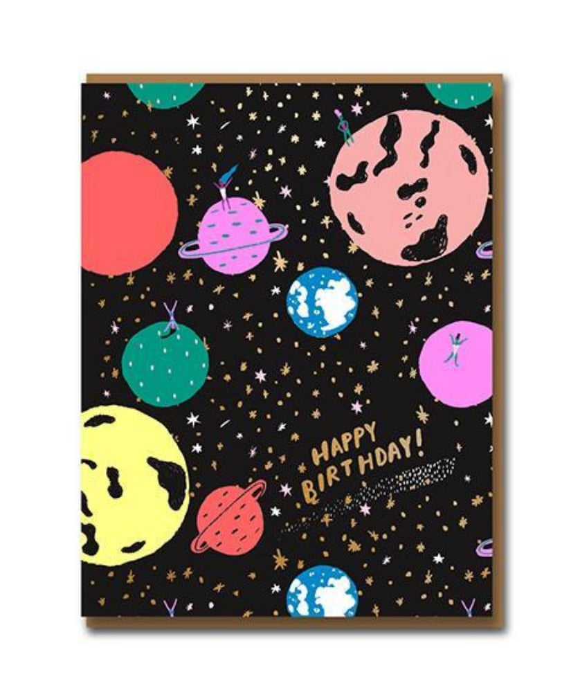 Et Ladies Greeting Card