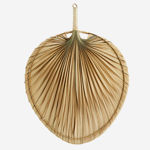 Palm Leaf Fan Decor