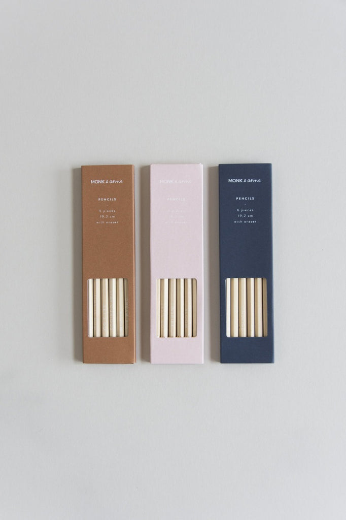 Pencil Set Wood