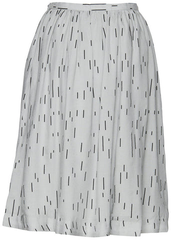 Azwar Mirage Grey Skirt