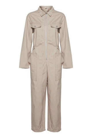Eivor Jumpsuit Oxford Tan