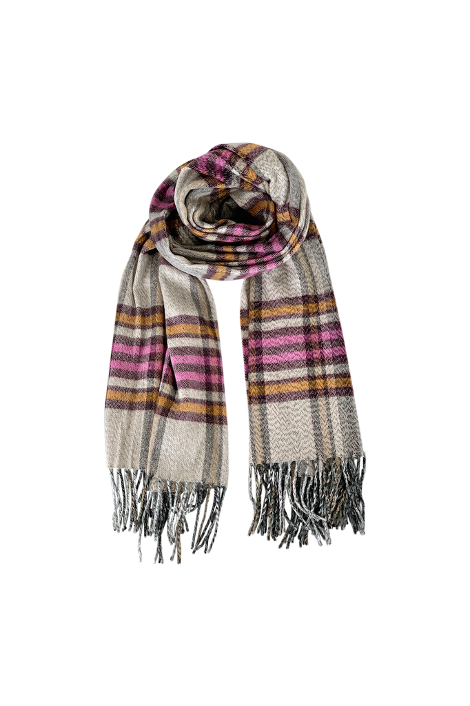 Gerda Checked Scarf