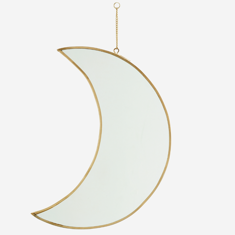 Hanging Moon Mirror