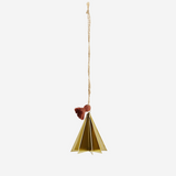 Hanging Christmas Tree Gold