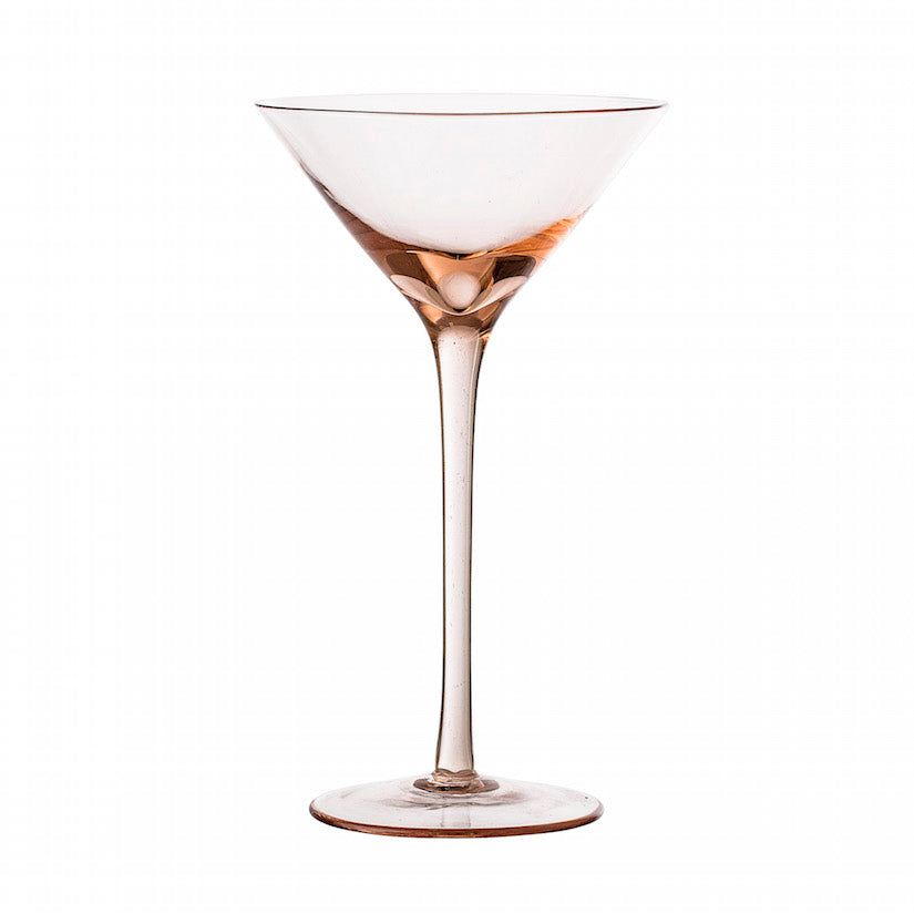 Liga Cocktail Glass Rose