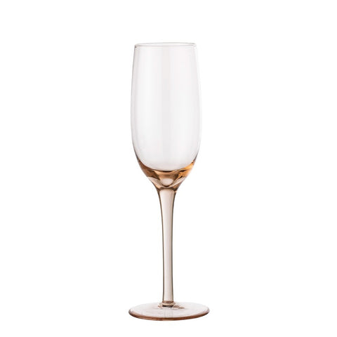 Liga Champagne Glass Rose
