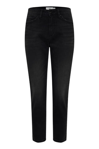 Luva Washed Black Jeans