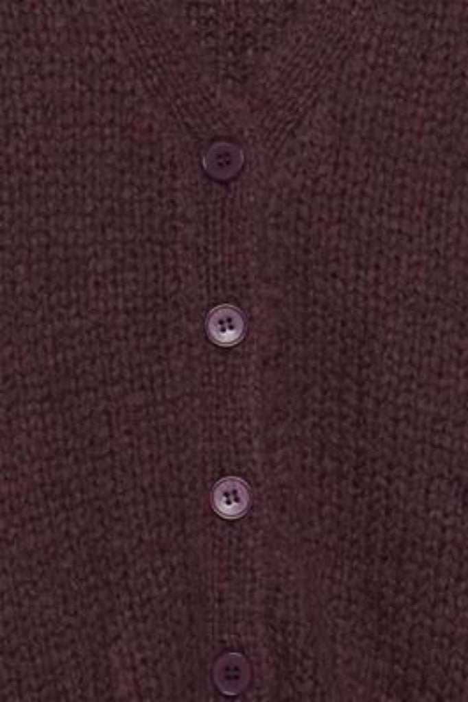 Mabel Cardigan Crushed Violets
