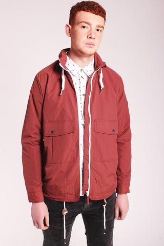 Zip Collar Rain Coat