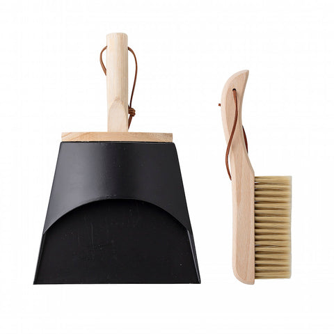 Cleaning Dustpan and Broom