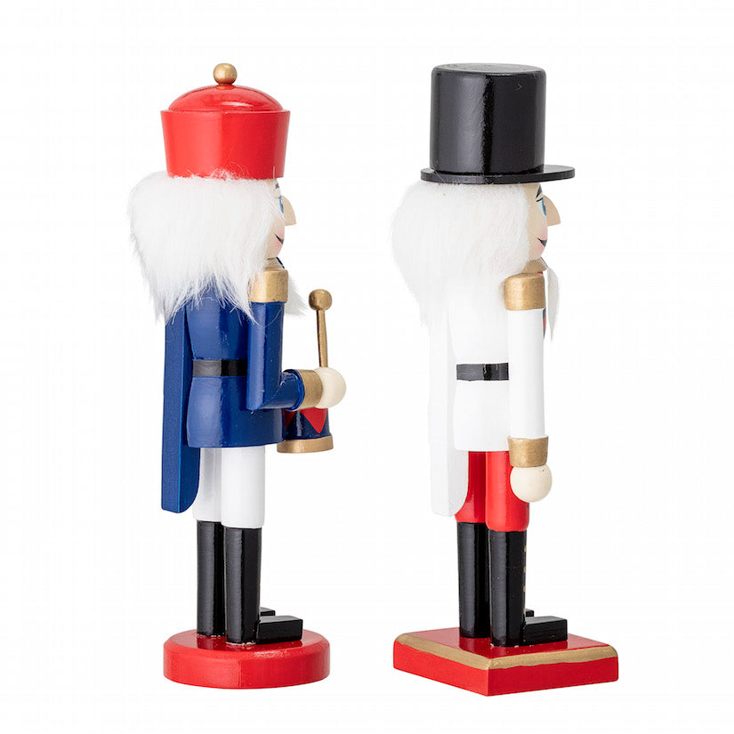 Set Of Two Medium Toy Soldier Ornaments