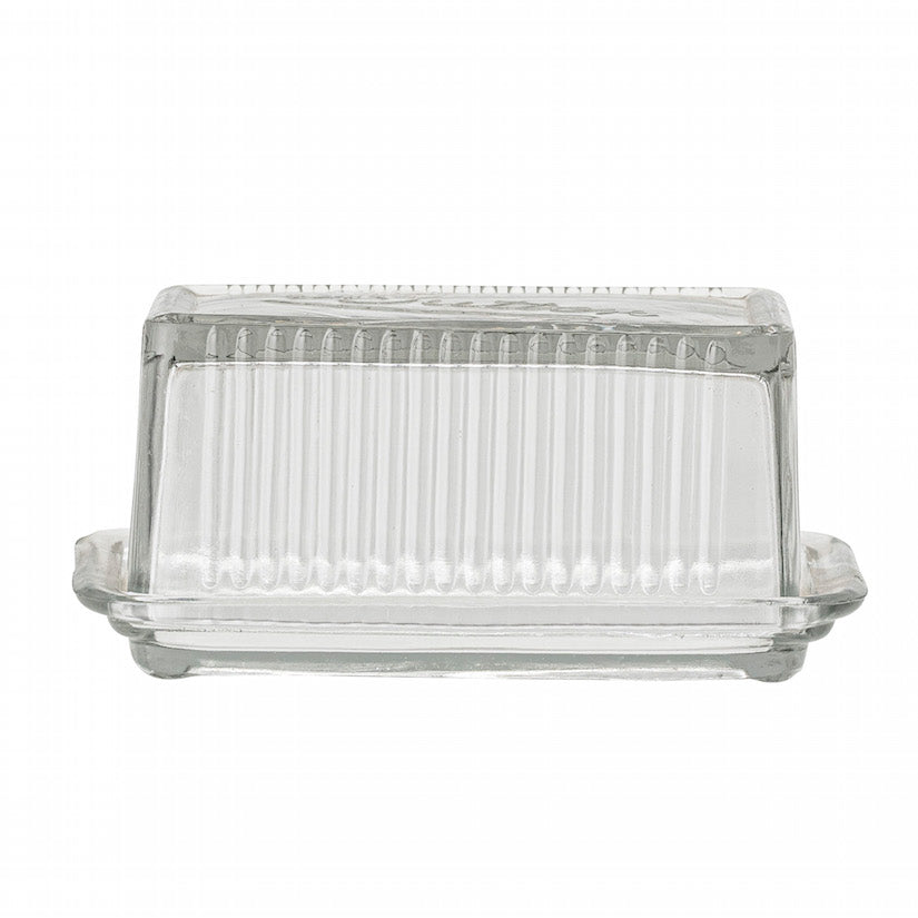 Navina Butter Box Clear Glass