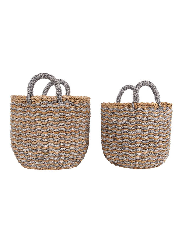 Basket Set Sea Grass.