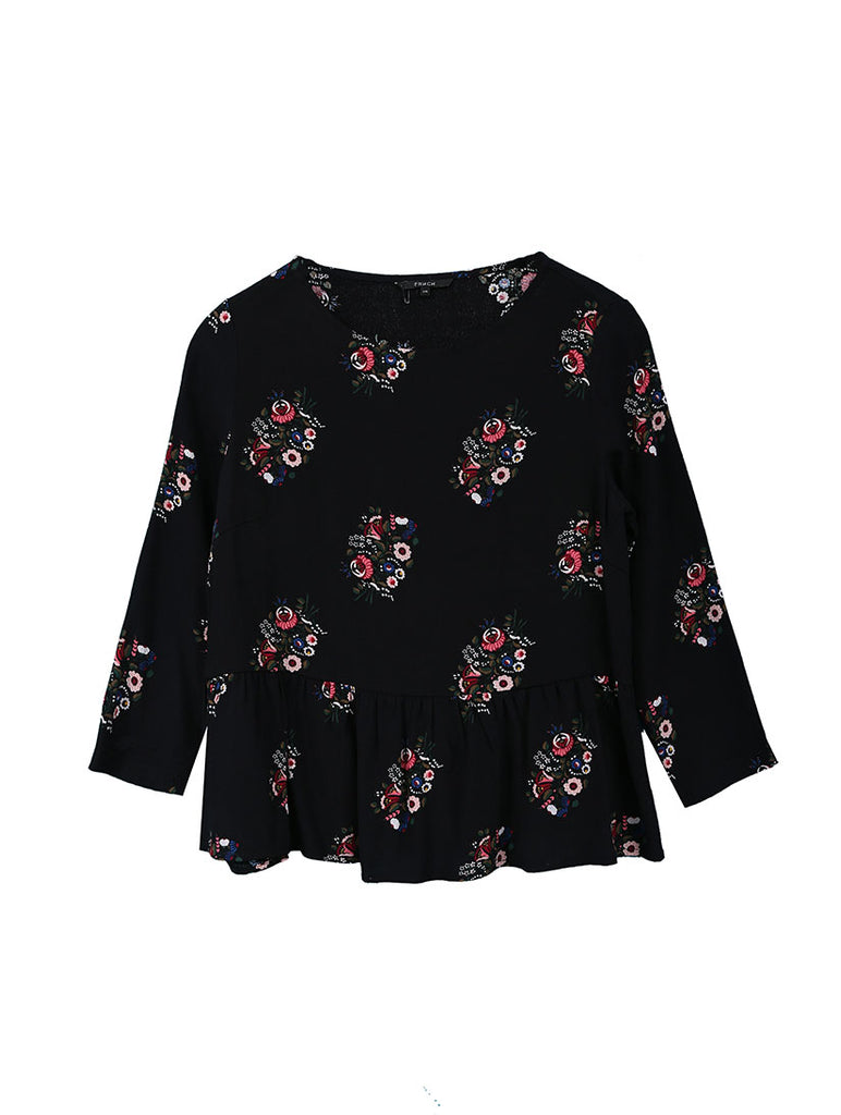 Chiara Flowers Top