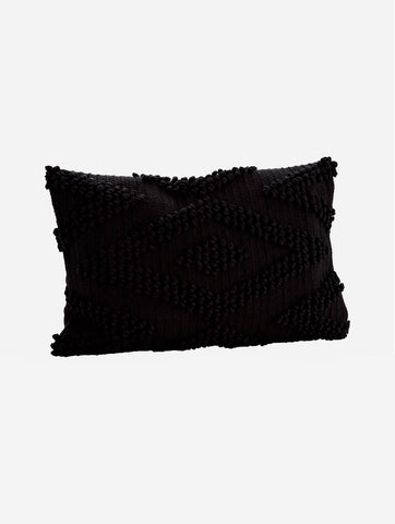 Cotton Cushion Black
