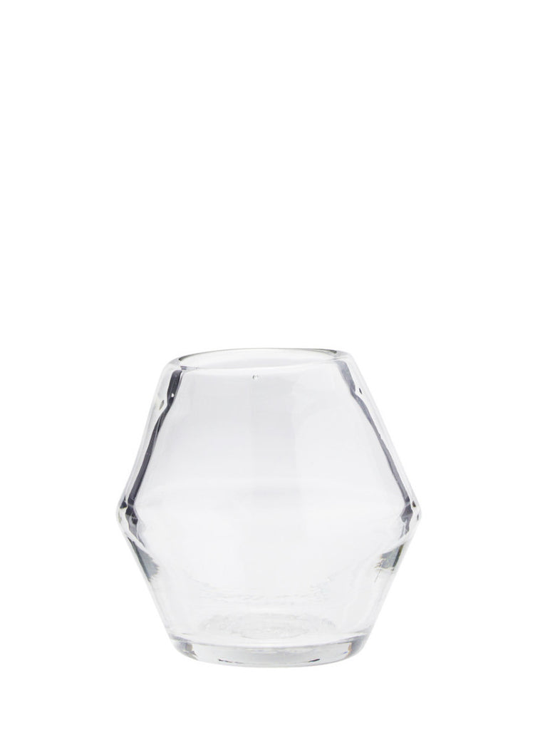 Clear Glass Vase Small