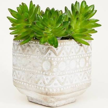 Ola Cement Planter Grey