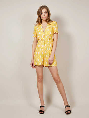 Angie Yellow Playsuit