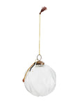 Hanging Glass Ball with Decoration