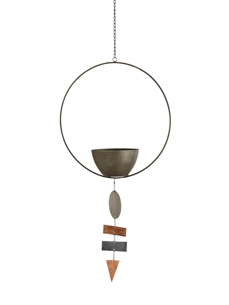 Hanging Pot With Decoration