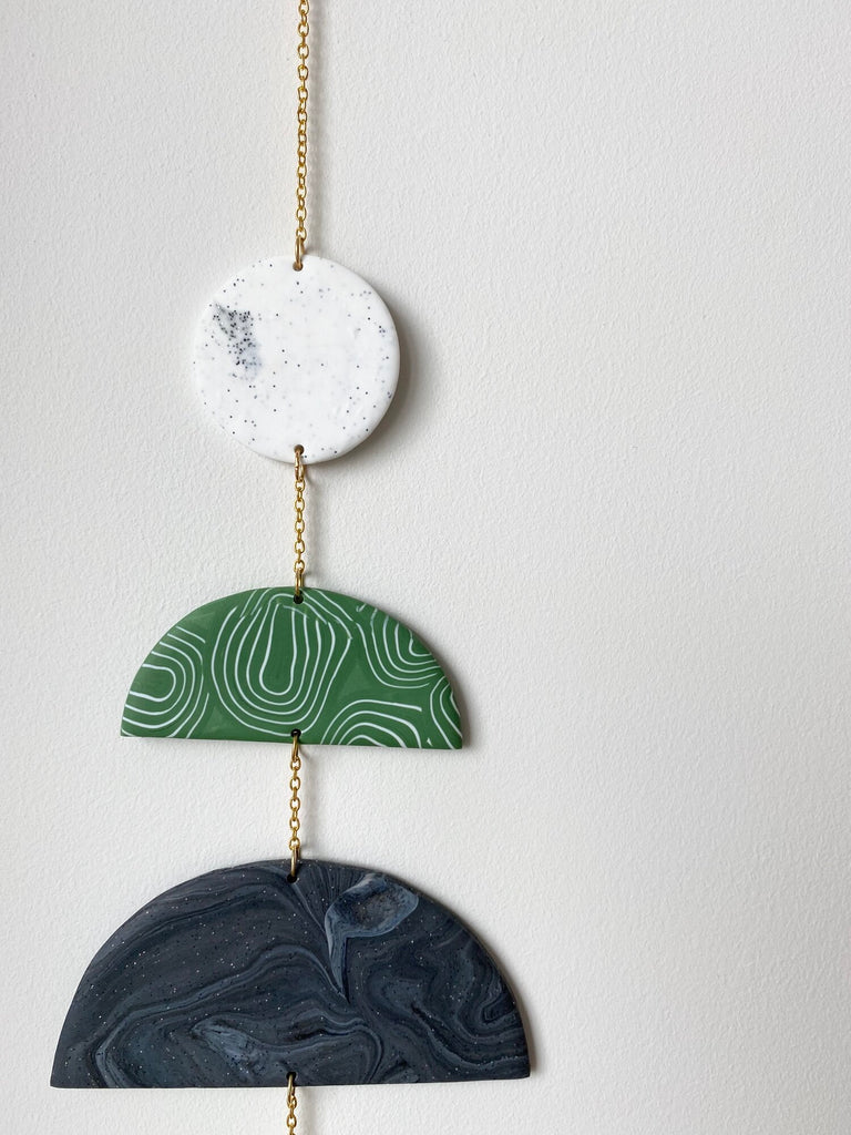 Crescents Wall Hanging