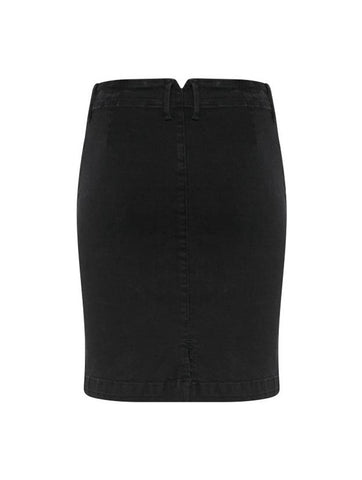 Izaro Skirt Washed Black
