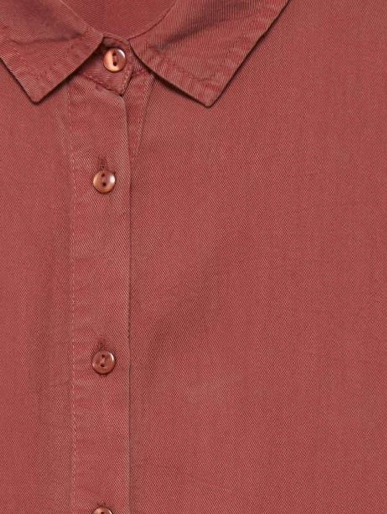 Jane Shirt Marsala