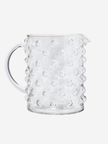 Jug With Dots Clear