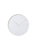 Wall Clock Belt White
