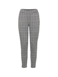 Kate Check Cropped Trousers Black