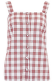 Marley Rust Gingham Cami Top