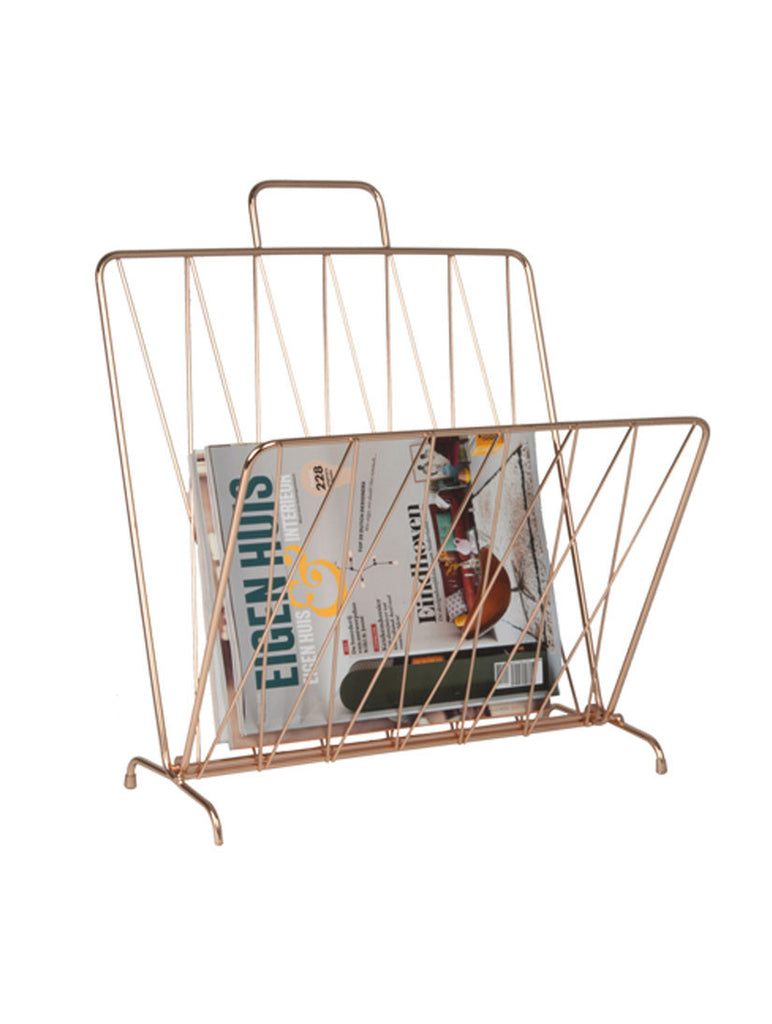 Magazine Rack Diamond Copperm