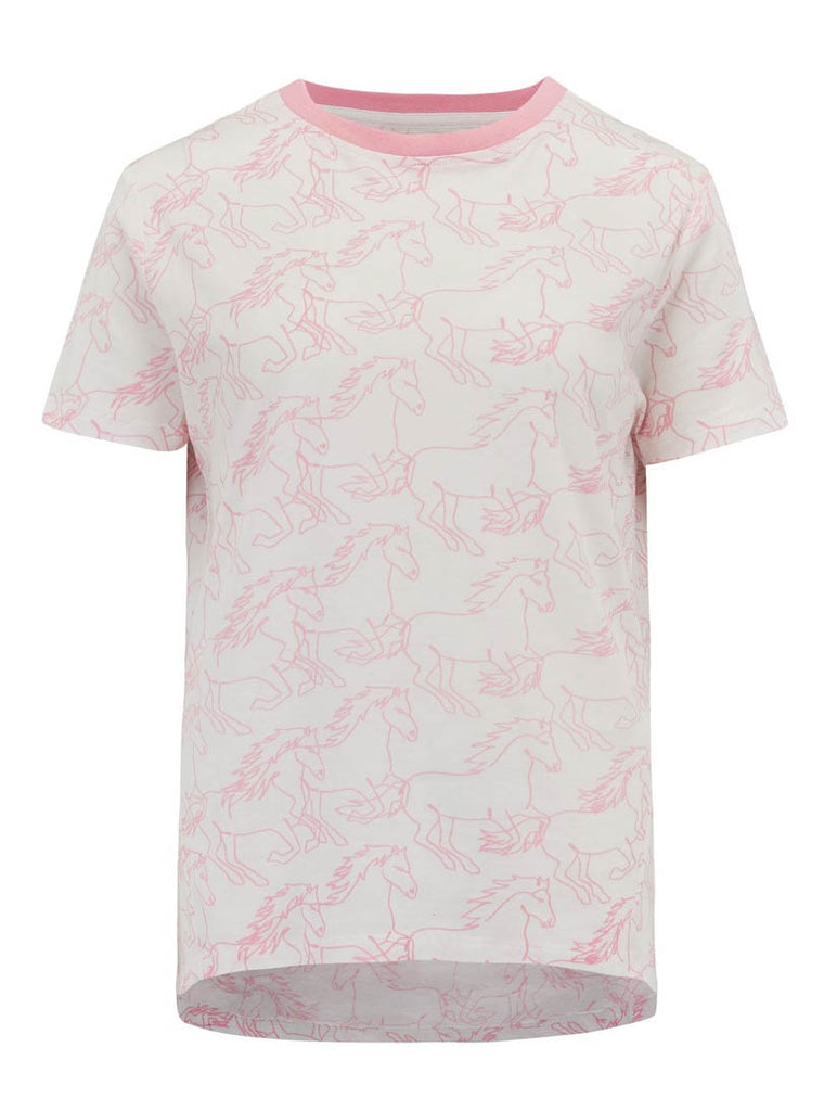 Mimi Running with Horses T-shirt
