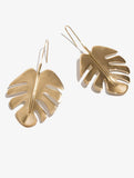 Leaf Oversized Earrings