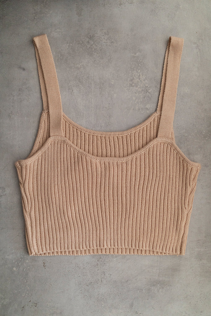 Knitted Ribbed Cami