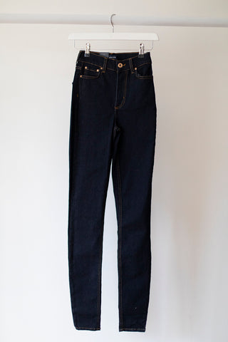 Nora Skinny High Waist Dark Blue Jeans