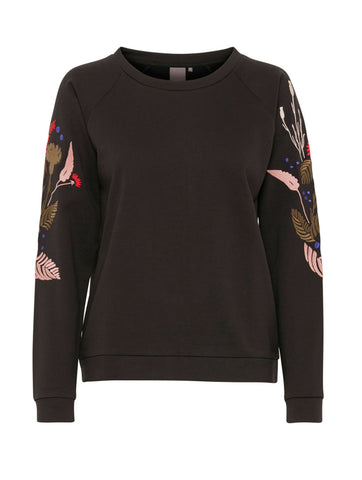 Percy Black Sweater