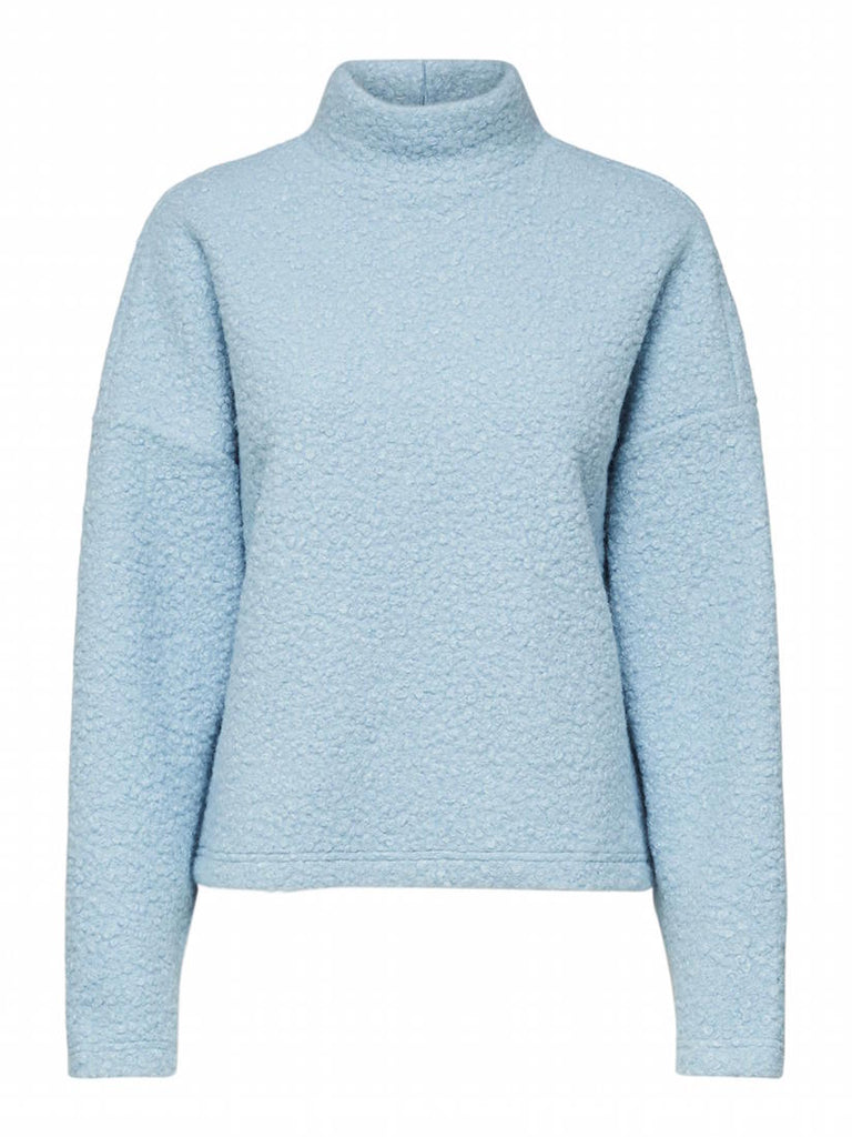Halli Teddy Top Cashmere Blue