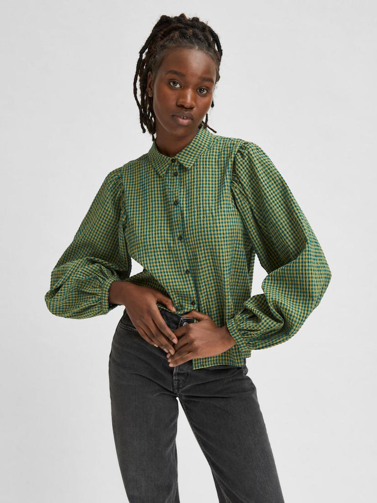 Nanna Long Sleeve Shirt Hunter Green