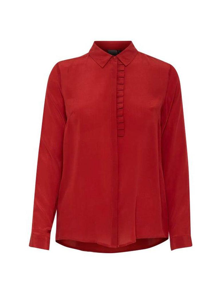Crush Shirt Red Dhalia