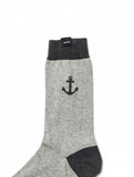 Anchor Socks Grey