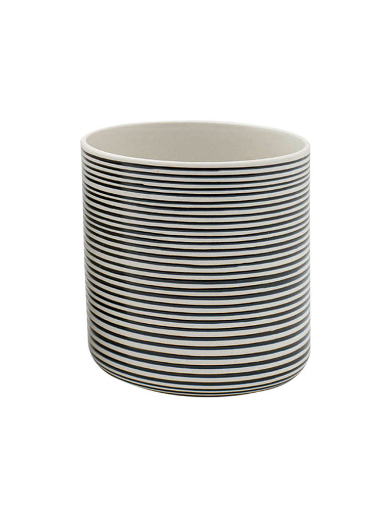 Stripe Plant Pot