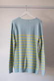 Sybil Stripe Sweater Blue/Yellow