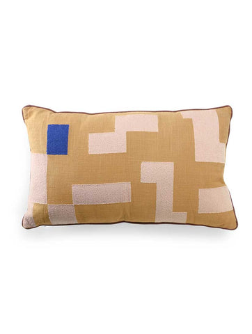 Double Sided Cushion Stitched Squares 60x35